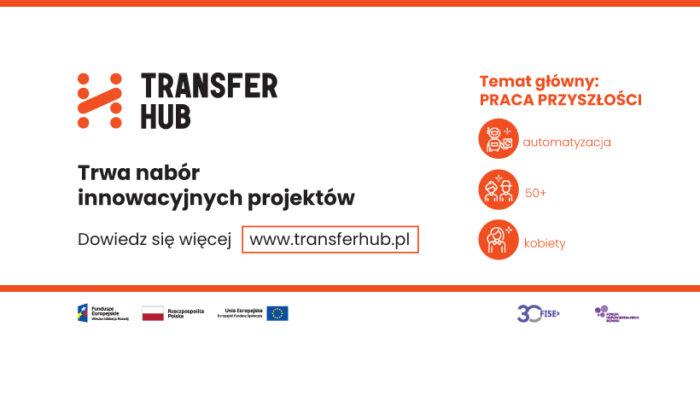 TransferHub grafika dekoracyjna